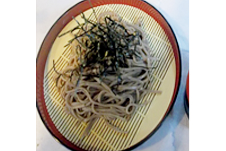 Zaru Udon_Soba - Cold Thick White Noodle or Buckwheat Noodle