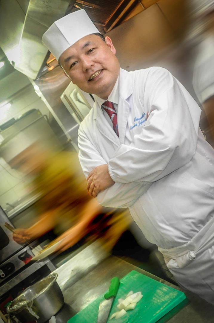 Chef Hiro puts his wizardry at work, concocting the most delectable dishes this side of the world.
