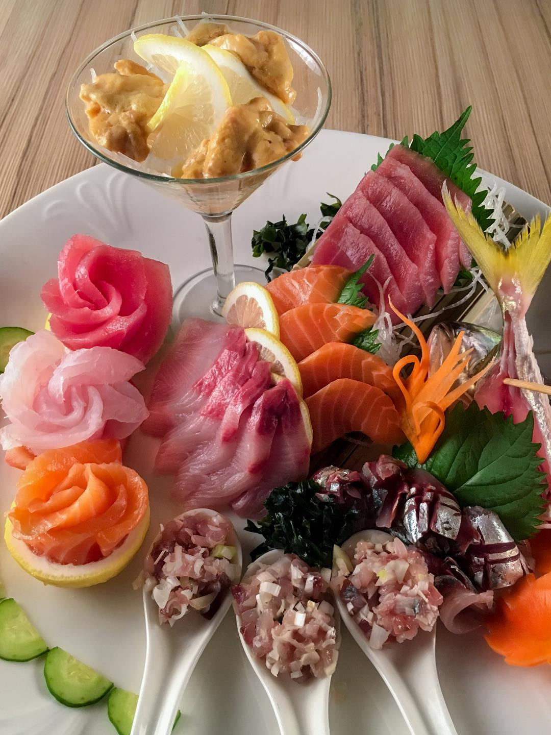Kitsho's sashimi platter is the best choice for diners who love fresh seafood. (1)