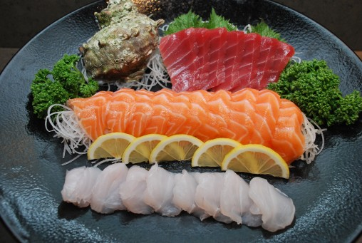 Fresh catch make the most delicious of sashimi selections.