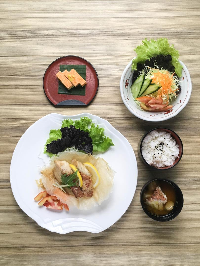Executives and yuppies will find Kitsho's set meal (valued at Php750) a real value for money treat!