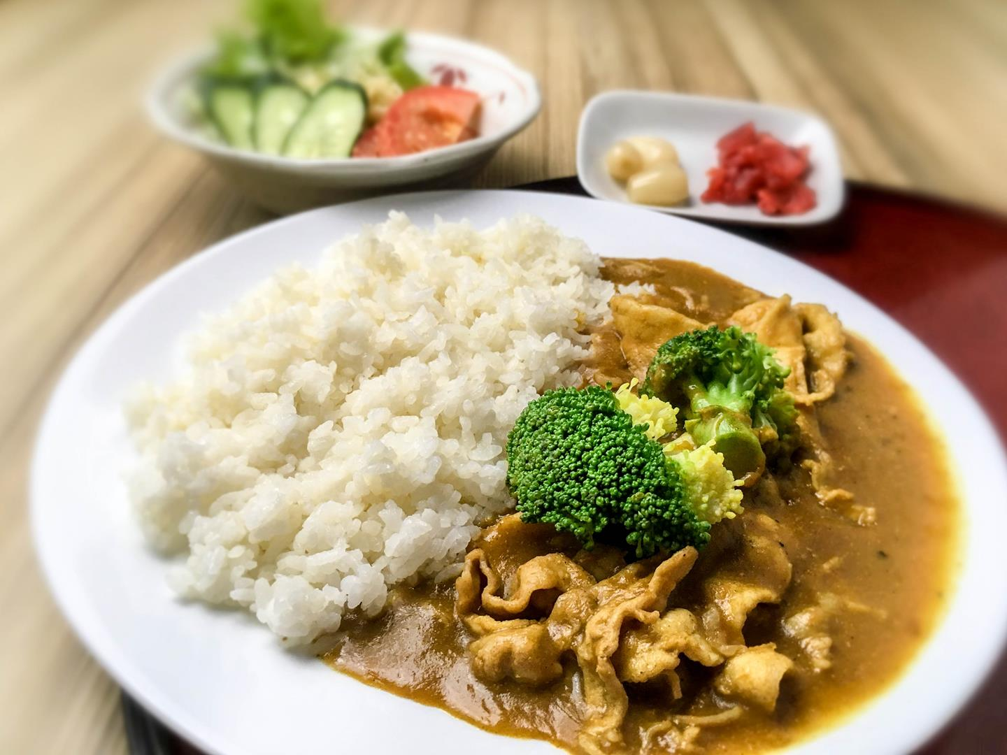 Meat lovers will be fully satiated with Kitsho's concoction of Pork Curry on rice.