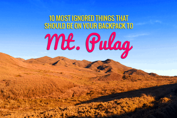 Mt. Pulag Essentials