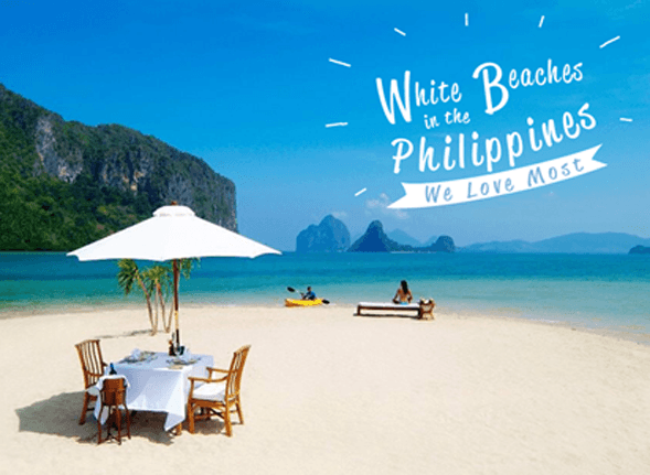 List of White Beaches in the Philippines